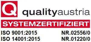 Quality Austria zertifiziert
